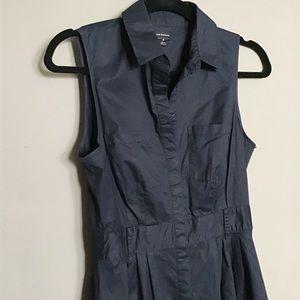 Club Monaco sleeveless button down dress